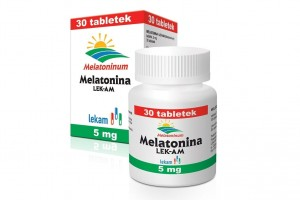 Melatonina LEK AM ,1 mg - 90 tabletek