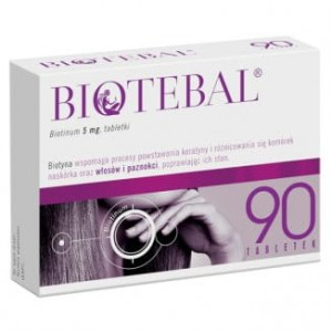 Biotebal 5 mg - 90 tabletek