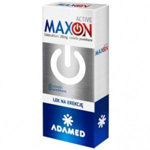 MAXON ACTIVE 25 mg - 8 tabletek